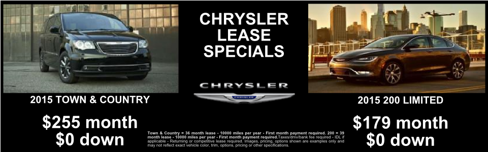 2015 Chrysler Town and Country 200 Limited - Bayside Chrysler Jeep Dodge New Special Slideshow