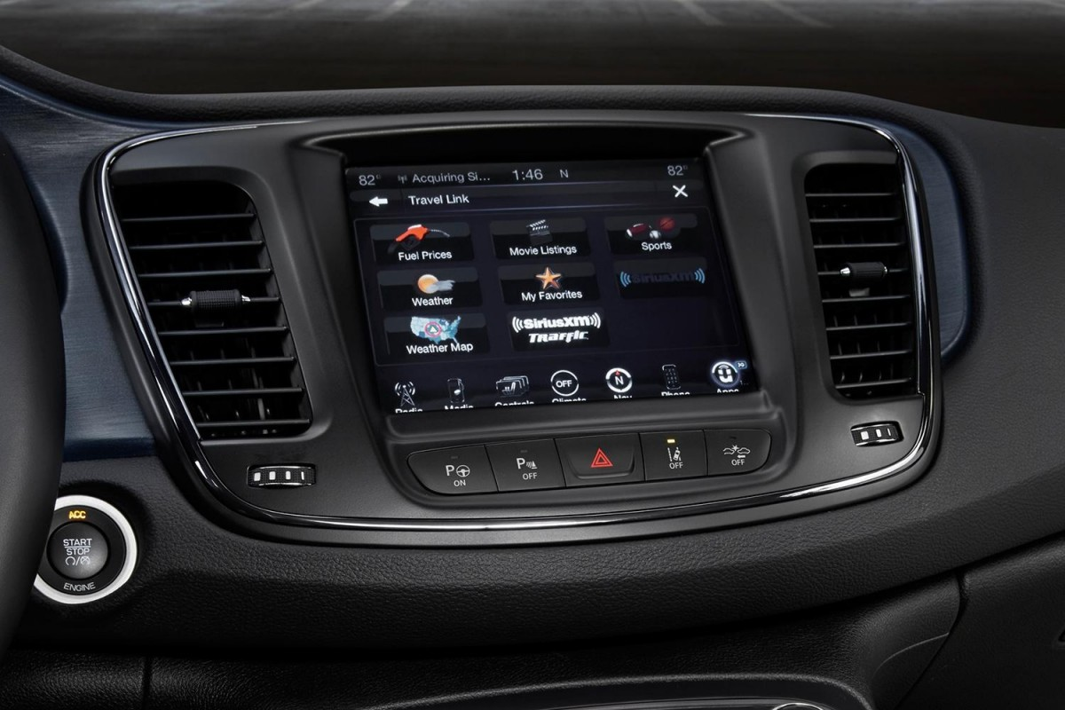 Chrysler Uconnect Screen - ChryslerDealerNY - Bayside Chrysler Jeep Dodge